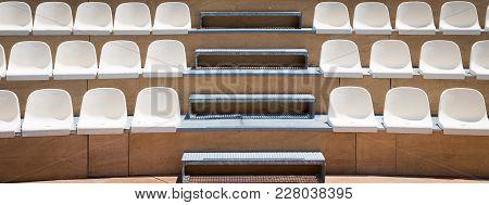 Rows Of Plastic Seats