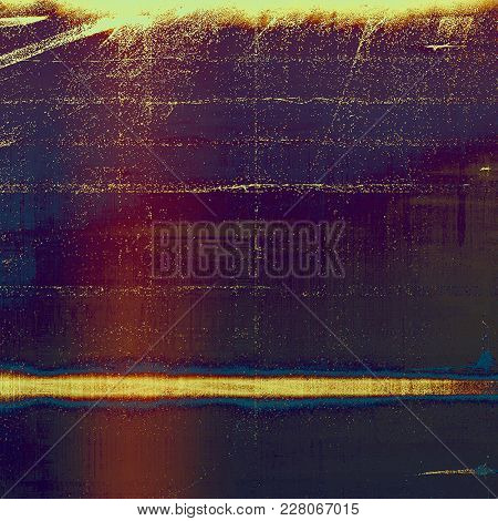 Retro design composition, grunge background or textured backdrop. With different color patterns