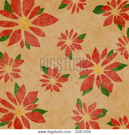 Background Poinsettia