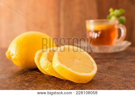 Lemon And Teacup