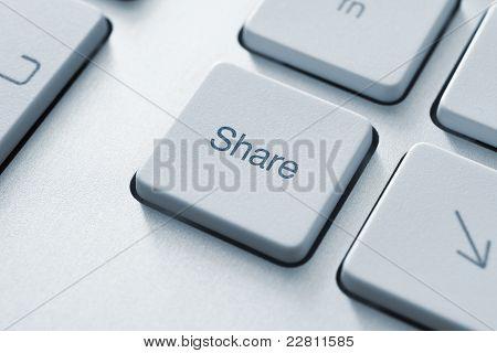 Sleutel delen