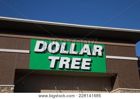 Dollar Tree Store Sign