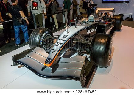 February 15, 2018. Toronto, Canada: Presentation Of Mclaren Mp4-198 F1 Car During The 2018 Canadian