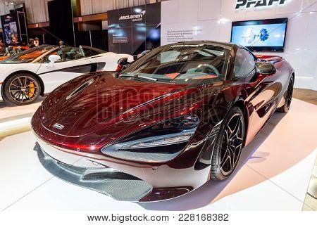 February 15, 2018. Toronto, Canada: Presentation Of Mclaren  Car During The 2018 Canadian Internatio