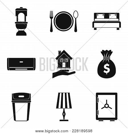 Tavern Icons Set. Simple Set Of 9 Tavern Vector Icons For Web Isolated On White Background