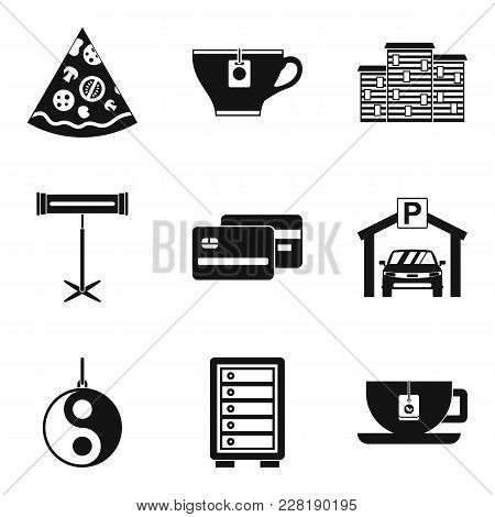 Pub Icons Set. Simple Set Of 9 Pub Vector Icons For Web Isolated On White Background