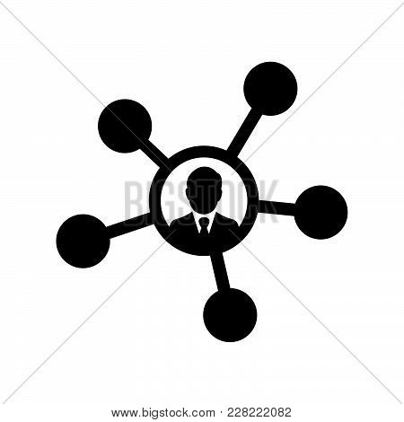 Network Icon Isolated On White Background. Network Icon Modern Symbol For Graphic And Web Design. Ne