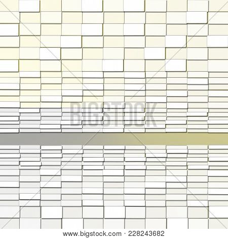 Abstract Background with Rectangle Light Blocks