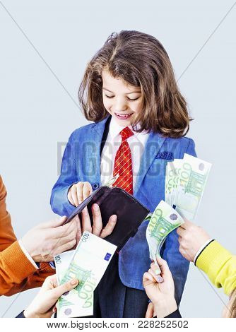 Business People Investing Money In A Specialist Business Project, Corruption And Anti-corruption Con