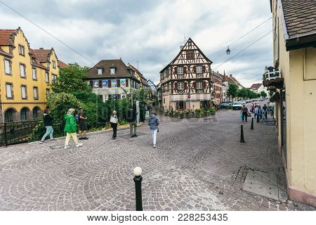 France, The Village Of Colmar