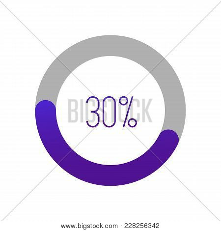 Loading Bar For Web Interfaces. Vector Illustration. Loading Circle