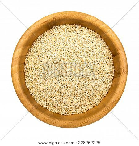Heap Of Puffed Millet Isolated