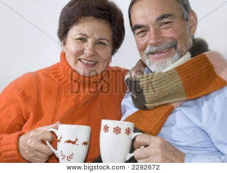 Attractive Senior Couple
