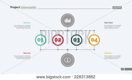 Business Stages Slide Template. Business Data. Graph, Diagram, Design. Creative Concept For Infograp