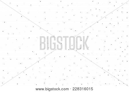 Splatter Background. Small Black Glitter Blow Explosion And Splats On White. Grunge Texture. Abstrac