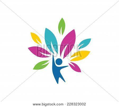 Child Education And Nursery Camp Vector Logo Design