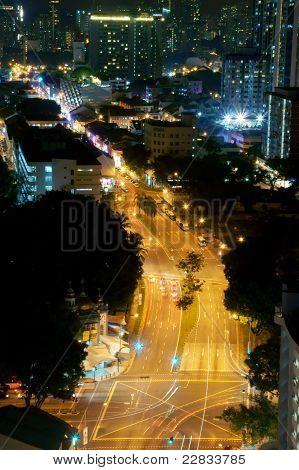 Night View Street