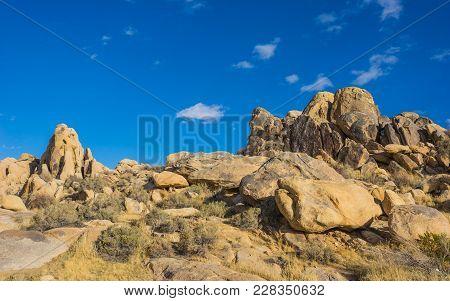 Mojave Desert Boulder Piles