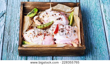Raw Chicken Meat
