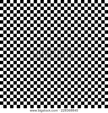 Chequered Black And White Illustration Useful As A Background