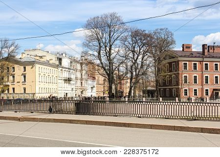 St. Petersburg, Russia - 14 May, The Architecture Of The Historical Part Of St. Petersburg, 14 May,