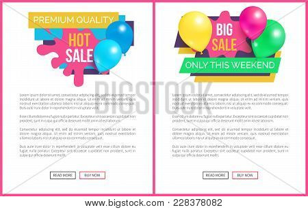 Premium Quality Total Sale Hot Prices Promo Stickers With Balloons And Brush Splashes Web Online Pos
