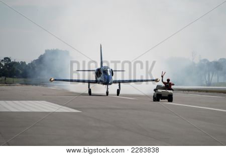 Jetfighter Ready For Takeoff