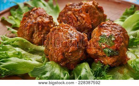 Israeli Ground Meat Patty