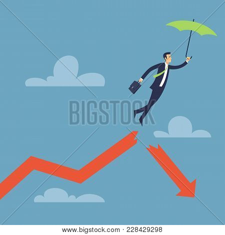 Business Backup Solutions For Failure Vector Illustration