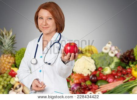 Health Diet Care Doctor Background Fresh Energy