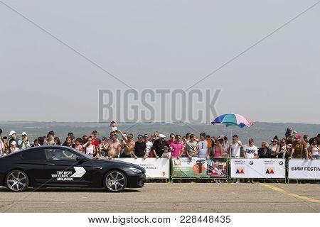 Bmw Festival In Chisinau Republic Of Moldova July 30 2016. Parade Bmw Models.