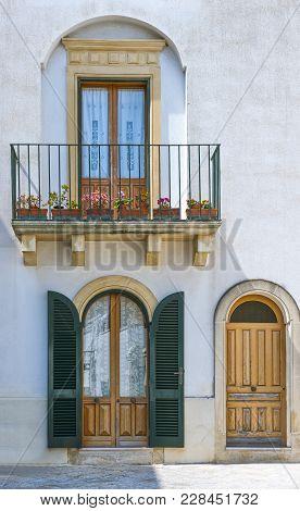 Apulia,salento, Otranto, Foreshortening Os The City Center