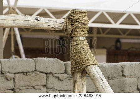 Connect The Timber With A Rope، Stairs