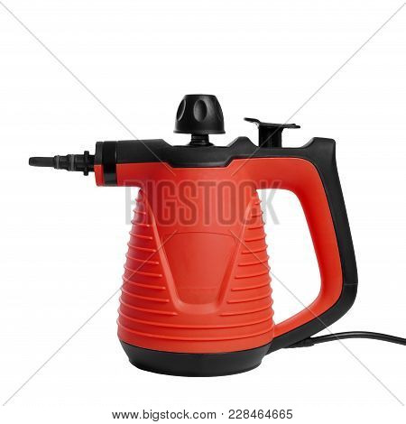 Handheld Vapor Steam Cleaner, Consumer Model Cleaning Appliance For Disinfection At Home, Isolated O