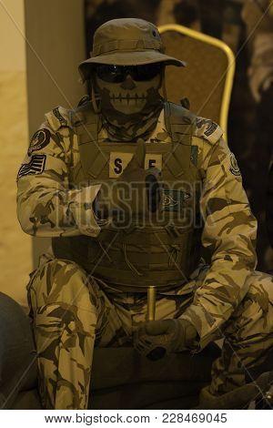 Saudi Security Force In Janadriyah Festival Essay February 23, 2018 In Riyadh, Saudi Arabia