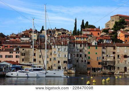 Travel in Croatia. Rovinj