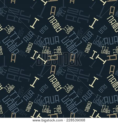 Tijuana Creative Pattern. Digital Design For Print, Fabric, Fashion Or Presentation.