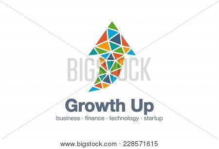 Abstract Business Company Logo. Corporate Identity Design Element. Technology, Market, Bank Logotype