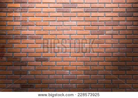 Brick Wall Texture Or Brick Wall Background. Brick Wall For Interior Exterior Decoration And Industr