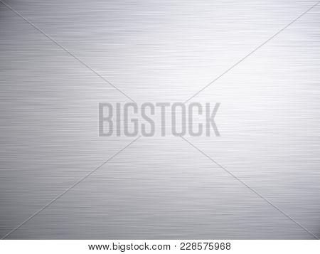 Brushed Steel Aluminium Metal Background Texture Background