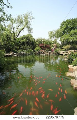 Geyuan Garden Is Located In Yangzhou, A City Renowned For Traditional Private Gardens, In Jiangsu Pr