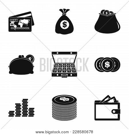 Scholarship Icons Set. Simple Set Of 9 Scholarship Vector Icons For Web Isolated On White Background