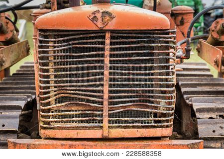 Old Front Bulldozer