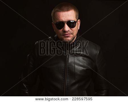 Portrait Of Men With Sunglasses