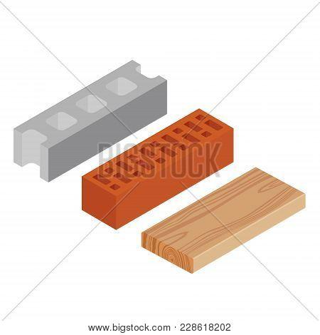 Block, Brick And Plank