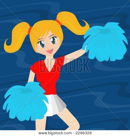Pretty Cheerleader