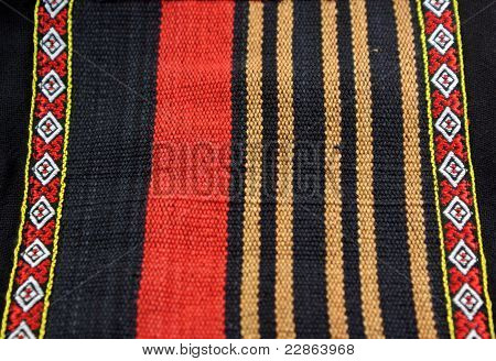 red gold and black strips canvas from Thailand poster