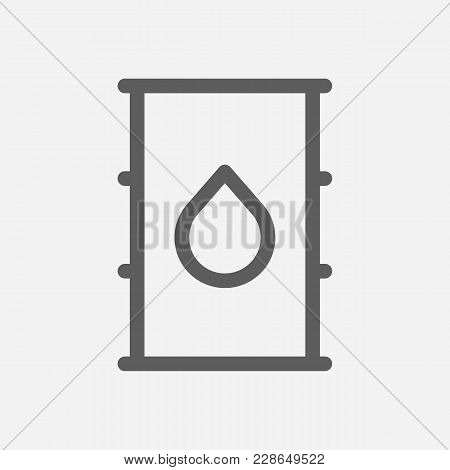 Petroleum Icon Line Symbol. Isolated Vector Illustration Of  Icon Sign Concept For Your Web Site Mob