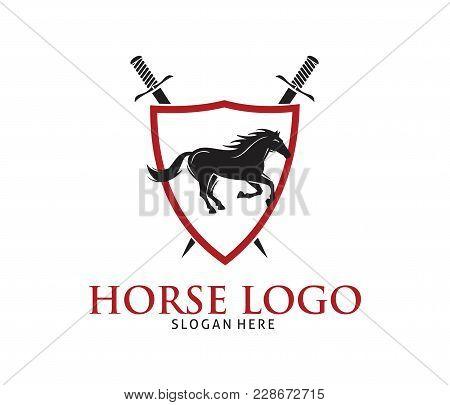 Vector Running Horse Logo