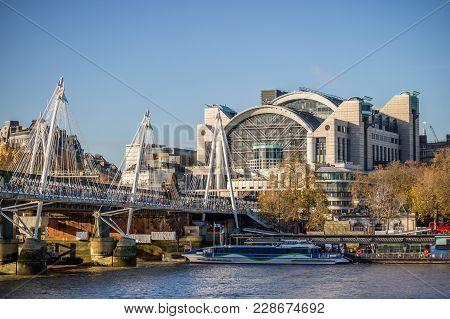 Modern Cityscape Of London